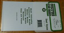 "Evergreen Styrene #4100 / 6 x 12"" Styrene Siding Sheet, V-Groove .040"" Thick --"