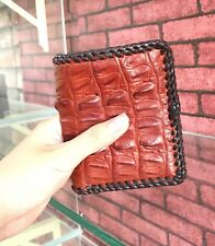Crocodile Leather Wallet