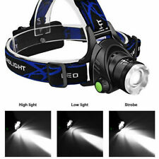 15000lm XML T6 LED Headlamp Headlight Rechargeable Head Torch 18650 Lamp