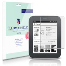 iLLumiShield Anti-Glare Screen Protector 3x for NOOK Simple Touch GlowLight 6""