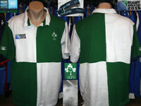 Rugby Union IRFU Ireland Canterbury Shirt Rugby World Cup Collection iRB2015