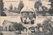 Gruß aus Klein - Süstedt Gastwirtschaft von Albert Lutterloh Postkarte 1921