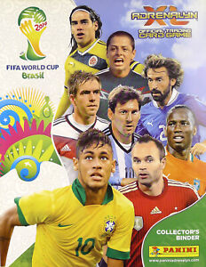 Panini Adrenalyn XL WORLD CUP BRAZIL 2014 Brasil DOUBLE RARE all cards 250-416