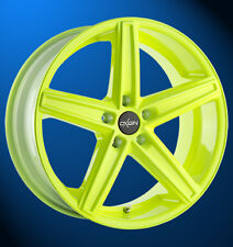 Oxigin 18 Concave 8.5x18 5x112 neon yellow/gelb Alufelge neu!