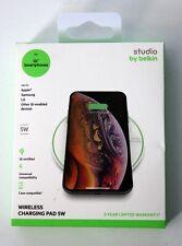 Belkin Studio Wireless Charging Pad 5W for Qi Certified IPhone/Galaxy/LG (New)