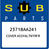 23718AA241 Subaru Cover assyaltntrfr 23718AA241, New Genuine OEM Part