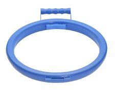 Blue Handy Hoop Anneau Sac Poubelle Refuser Sac à Ordures Support en plastique avec poignée