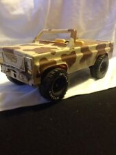 Vintage Nylint Corp. Army SUV vehicle soldier