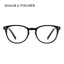 Myopia Round Black Near Short Sighted Distance Glasses -0.25 to -6.00