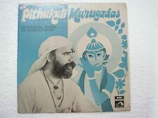 PITHUKULI MURUGADAS DEVOTIONAL LORD KRISHNA tamil  RARE LP CLASSICAL INDIA vg+
