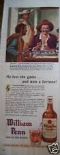 1948 Blatz Beer Bottle Plum Fruit Art Ad
