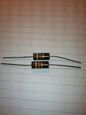 2 ALLEN BRADLEY Carbon Comp Resistor 24k 2 watt 5%