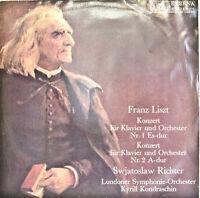 Liszt Konzert Pour Klavier Et Orchestre Richter-Kondraschin Eterna [d400]