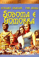 Sodom and Gomorrah (1962) - Stewart Granger, Stanley Baker,Pier Angeli - DVD NEW