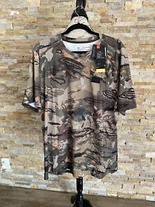 Under Armour Heat Gear ISO Chill Mens Shirt Early Season Kit Forest Loose 2XL