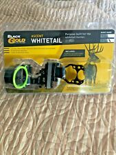 Black Gold 3 Pin Ascent Whitetail Compound Bow Sight Right Hand