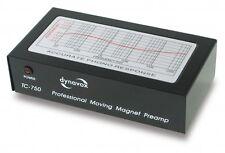 Dynavox TC-750 Phonovorverstärker MM schwarz + Netzteil Phono Vorverstärker