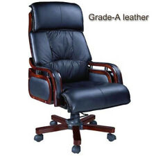 Grade-A cowhide leather executive office chair   free postage within Melb. metro