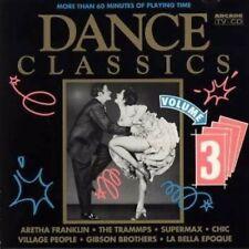 Dance Classics 3 (Arcade, 1991) Supermax, La Belle Epoque, Village People.. [CD]