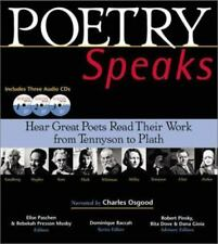 Poetry Speaks : Hear Great Poets Read Their Work from Tennyson to Plath by Elis…