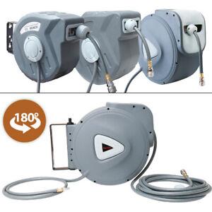 Druckluftschlauch Aufroller Schlauchaufroller Luft Automatik Schlauchtrommel