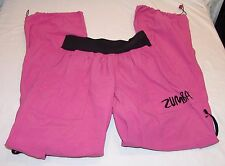 Zumba Fitness Pants M Womens Pink Exercise Athletic