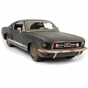 NEW 1:24 Ford Mustang GT Car Model Old Ver. Maisto Diecast Toy Gift Collect