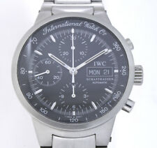 IWC GST DAY-DATE CHRONOGRAPH SWISS MADE CAL. C.7922 AUTOMATIK EDELSTAHL