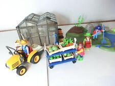 Playmobil gärtnerei   Figuren Sammlung garten bauernhof traktor