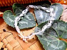 52-Bracelet cristal de roche perles 6/10mm