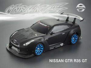 1/10 Scale Nissan GTR R35 Body/Arch Kit Set For RC Drift Car Body Shell