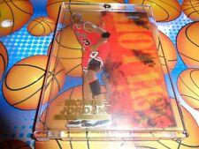 MICHAEL JORDAN HOOPS 1996-97 HOT LIST INSERT CARD#8(RARE)$