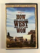 How the West Was Won DVD 2008 3-Disc Set Ultimate Collectors Edition Like New