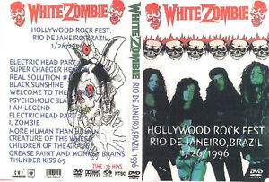 White Zombie: Hollywood Rock Fest. Brazil 1996
