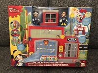 NEW DISNEY JUNIOR MICKEY MOUSE CLUBHOUSE TO THE RESCUE FIRE STATION