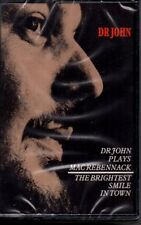Dr John - Plays Mac Rebennack + The Brightest Smile in Town Cassette MINT Sealed