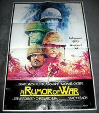 A Rumor Of War rare vintage 1980 1-sheet original cinema poster ..............#B