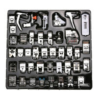 42pcs Domestic Sewing Machine Foot Feet Presser Snap Tool For Brother Singer Set