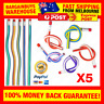 5pcs Soft Flexible Bendy 2B Pencils Magic Fun Kids Children School Stationery