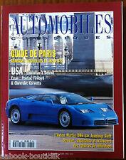 Automobiles Classic no.60; Essai Pontiac Firebird & Chevrolet Corvette/ DB 6