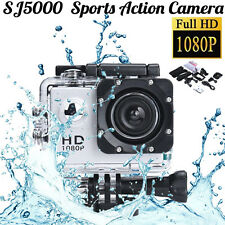 12MP Waterproof Helmet Action DV Sports Camera Camcorder HD 1080P Car Recorder