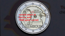 varietà ponte 2 euro 2019 Lussemburgo Luxembourg Luxemburg Luxemburgo Suffrage