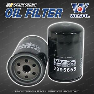 Wesfil Oil Filters for Iveco Daily 3.0L TD 4Cyl 16V DOHC Turbo Diesel