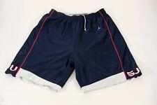 Jordan St Johns college basketball shorts mens 2xl reversible white navy