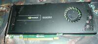 PNY Nvidia Quadro 4000 2GB PCI-e DVI Dual DP Video Graphics Card VCQ4000V3-T