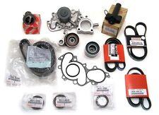Toyota Sequoia Timing Belt Water Pump Tensioner Idler Pulley Kit Genuine OE OEM