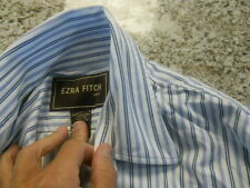 Ezra Fitch abercrombie  long   sleeve casual button  shirt adult men's small