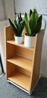 ☆ Excellent 1960s Industrial Vintage Trolley Bookcase - 4 Available ☆