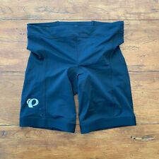 Pearl Izumi Womens Large Tri Shorts Select Pursuit Black Swim Bike TriShorts L