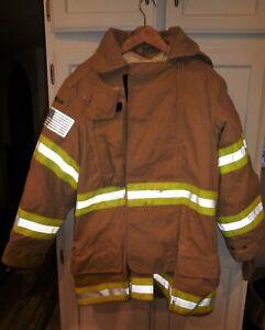 Janesville Firefighter Turnout Bunker Jacket  Size: 42/35R
